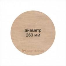 Тефлоновый коврик КРУГЛЫЙ D 260 мм