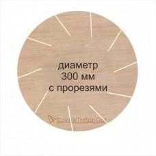 Тефлоновый коврик КРУГЛЫЙ D 300 мм с прорезями