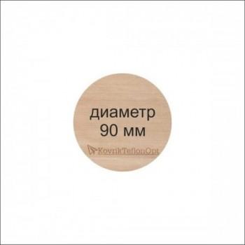 Тефлоновый коврик КРУГЛЫЙ D 90 мм